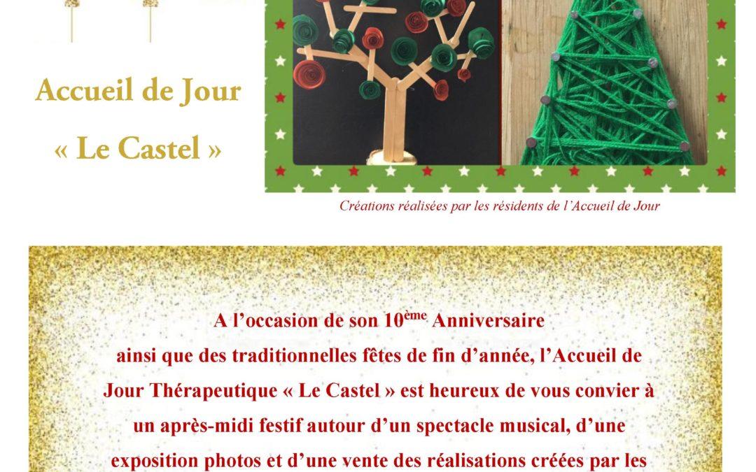 10ème Bougie pour l'Accueil de Jour du Castel Marie à Limoges