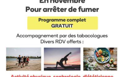 Programme Tab'Agir mois sans tabac