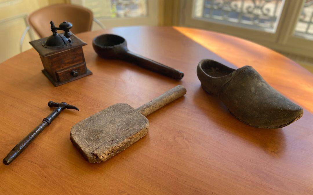 Les outils d'autrefois